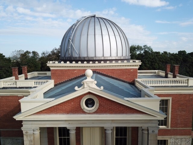 Top of Observatory building